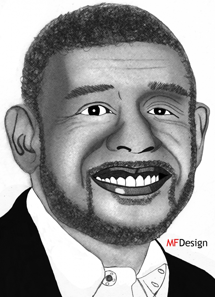 Forest Whitaker by merytamon